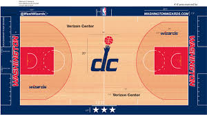 wizards set to have new court design for 2014 15 season bullets washingtoncourt medium