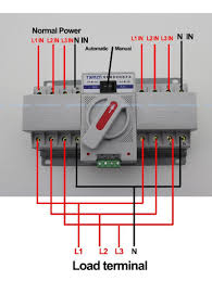 portable generator transfer switch wiring diagram in manual
