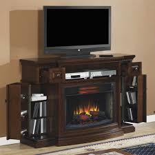 Tv Stand Fireplace Walmart Classic Living Room Area With Majestic Gas Flame Corner Tv Stand