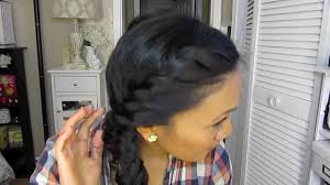 a quick and easy hairstyle i can fo myself a cute hair style for wet hair youtube