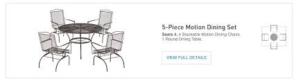 Motion Patio Chairs Shop The Davenport Patio Collection On Lowes Com