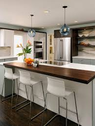 glass countertops small kitchens with island lighting flooring