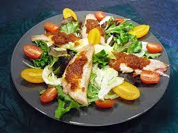cuisiner des rougets salade tiède de filets de rougets au caviar de tomates la