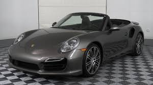 black porsche convertible 2014 used porsche 911 turbo cabriolet at scottsdale ferrari serving