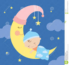 moon clipart sleeping on moon clipart