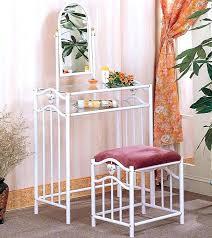 glass bedroom vanity elegant glass bedroom vanity white metal vanity with glass top and