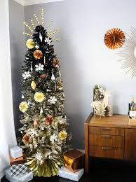 decorate it a black and gold ombrè tree a kailo chic