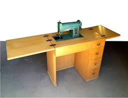Folding Sewing Machine Table Plans Folding Table Ideas