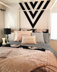 pink and black bedroom ideas girls room black gold and pink black paint feature wall black