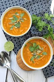 Thai Red Pumpkin Curry Recipe by Pumpkin Coconut Curry With Sweet Potato Noodles Whole30