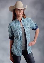 Plus Size Cowgirl Clothes Womens Western Shirt Banjo
