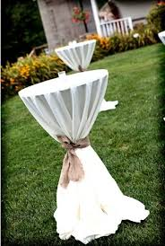 cocktail tables for rent chattooga farm weddings events rentals