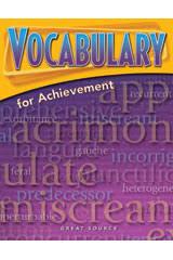 vocabulary for achievement teacher u0027s edition grade 10 fourth