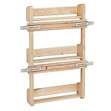 Wooden Spice Rack Wall Spice Racks Containers Shelves U0026 Stacks Bed Bath U0026 Beyond