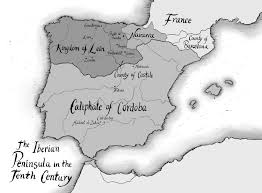 Burgos Spain Map by Unusual Historicals My Characters Lived In 10th Century Spain
