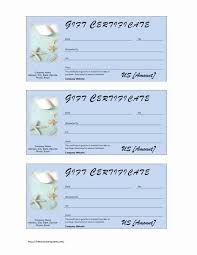 salon gift certificate template free fill car tuning spa printable