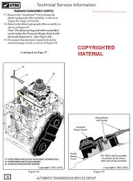 dodge chrysler 62te transmission rebuild manual on cd 2007 u0026 up
