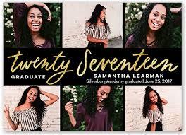 graduation photo announcements tri fold sparkle shine graduation announcements invitations