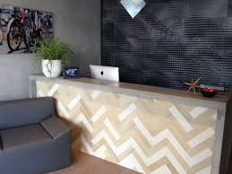 Modern Office Reception Desk Reception Desk Modern Kitchen Miami By Porto Designs