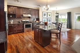 beautiful hardwood floors truly add wow factor to a kitchen