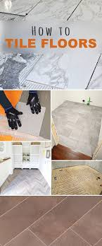 how to tile floors tile flooring remodeling ideas and basements