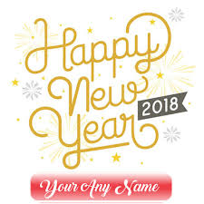 online new year cards write name on 2018 happy new year wishes card edit pictures my