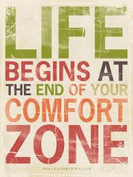 Life Begins Outside Of Your Comfort Zone Life Begins At The End Of Your Comfort Zone Poster Poster Quote