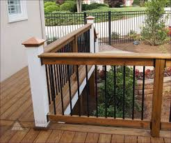 outdoor awesome decorative porch railing vinyl stair railing