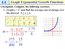 how do i graph and use exponential growth and decay functions
