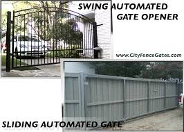 automated gate service gate repairs and installation in dallas