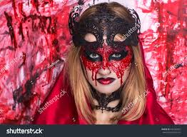 lifestyle halloween party creative woman lady model play stock photo 442182022