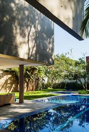 pool area ideas architecture concrete wall in beautiful refreshing home courtyard