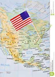 Map De Usa by Usa Map Flag Pin Pointing To Washington Stock Photo Image 58662659