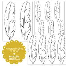 feather cut out patterns patterns kid