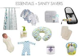 baby essentials newborn baby list essentials littlematrix