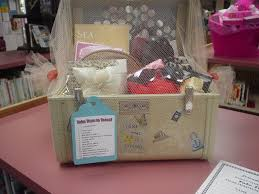 take time to travel auction basket love that they put it in a