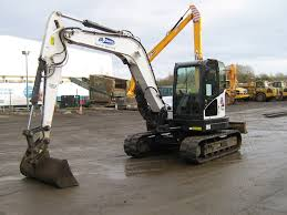 8 ton tracked excavator for hire in scotland