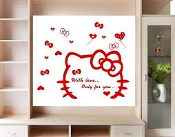 kitty wall decals cute funny u2014 jen u0026 joes design
