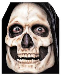 zombie contacts spirit halloween skull foam latex mask for your grim reaper halloween makeup