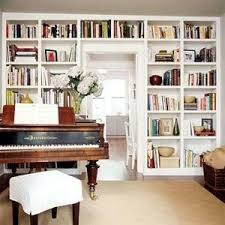 an amazing ikea hack built in bookcases paperblog