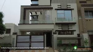 8 marla house is available for sale in umar block sector b bahria