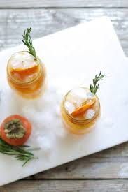 persimmon and rosemary boozy booch u2014 my diary of us