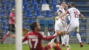 panchina di calcio romagnoli e suso rianimano il milan e salvano la panchina di