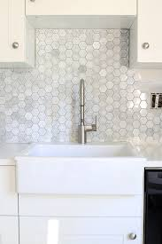 How To Put In Backsplash - how to install a marble subway tile backsplash just a and