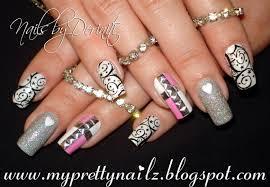 14 bling nail design bling nails see more about nail arts wedding