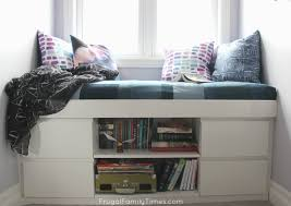 Build A Window Seat - how to diy a simple built in window seat an ikea hack frugal