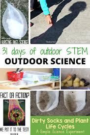outdoor science activities for kids outdoor stem
