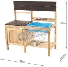 cuisine d enfants cuisine d été en bois pour enfants muddy maker