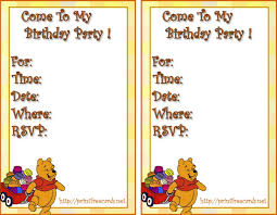 colors exquisite free printable winnie pooh birthday party