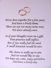 wedding gift list poems wedding gift list poems asking for vouchers lading for